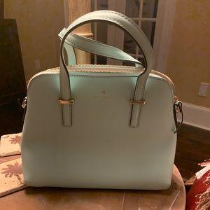 Kate Spade Purse Robbins egg blue
